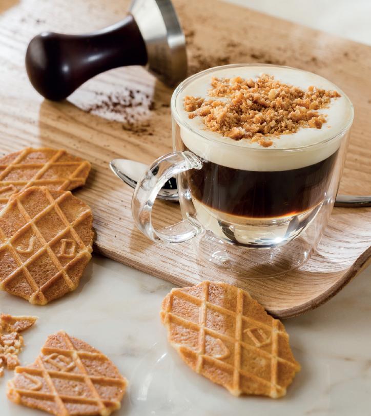 Koffie boterwafels