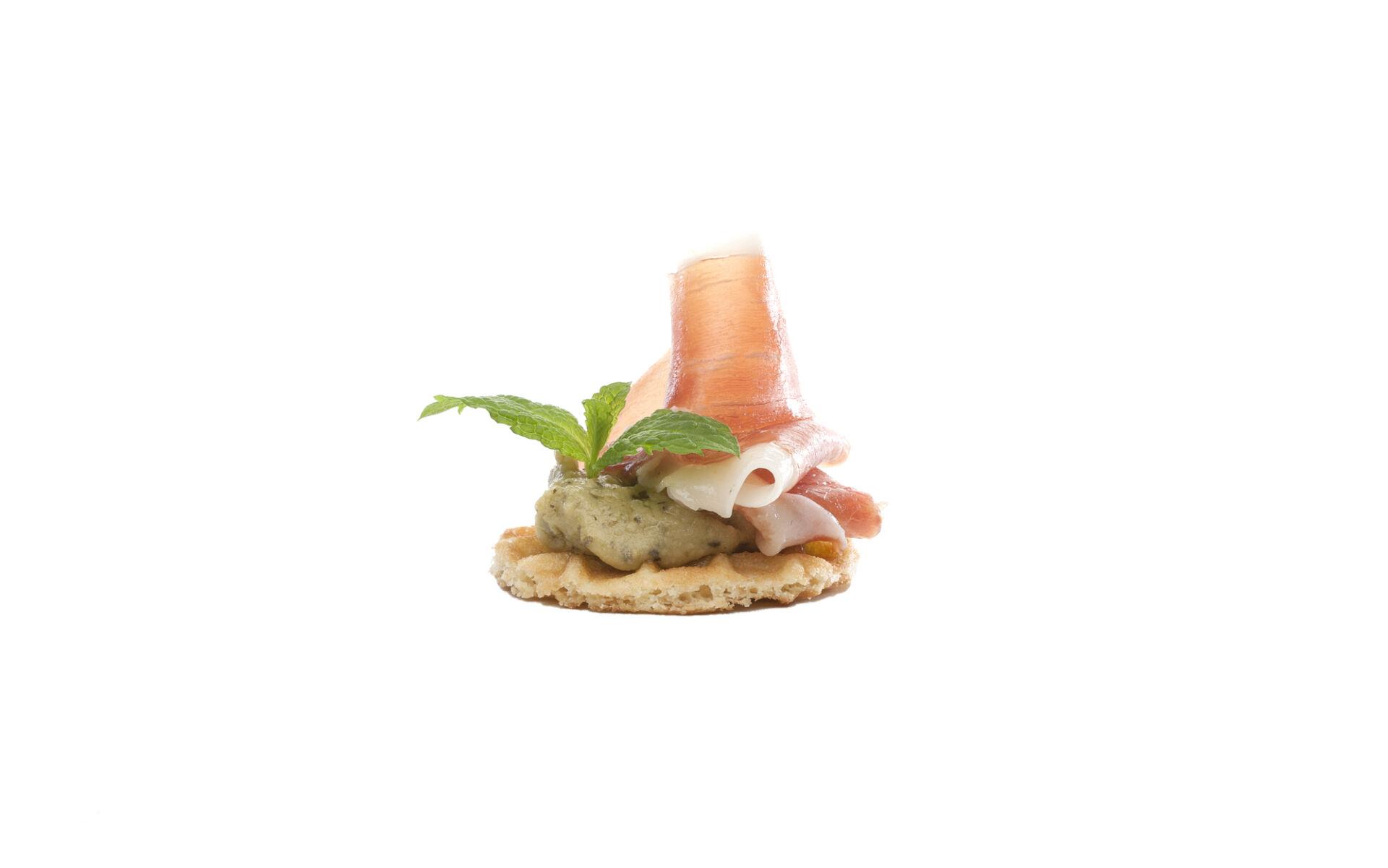 Parijse wafel hummus