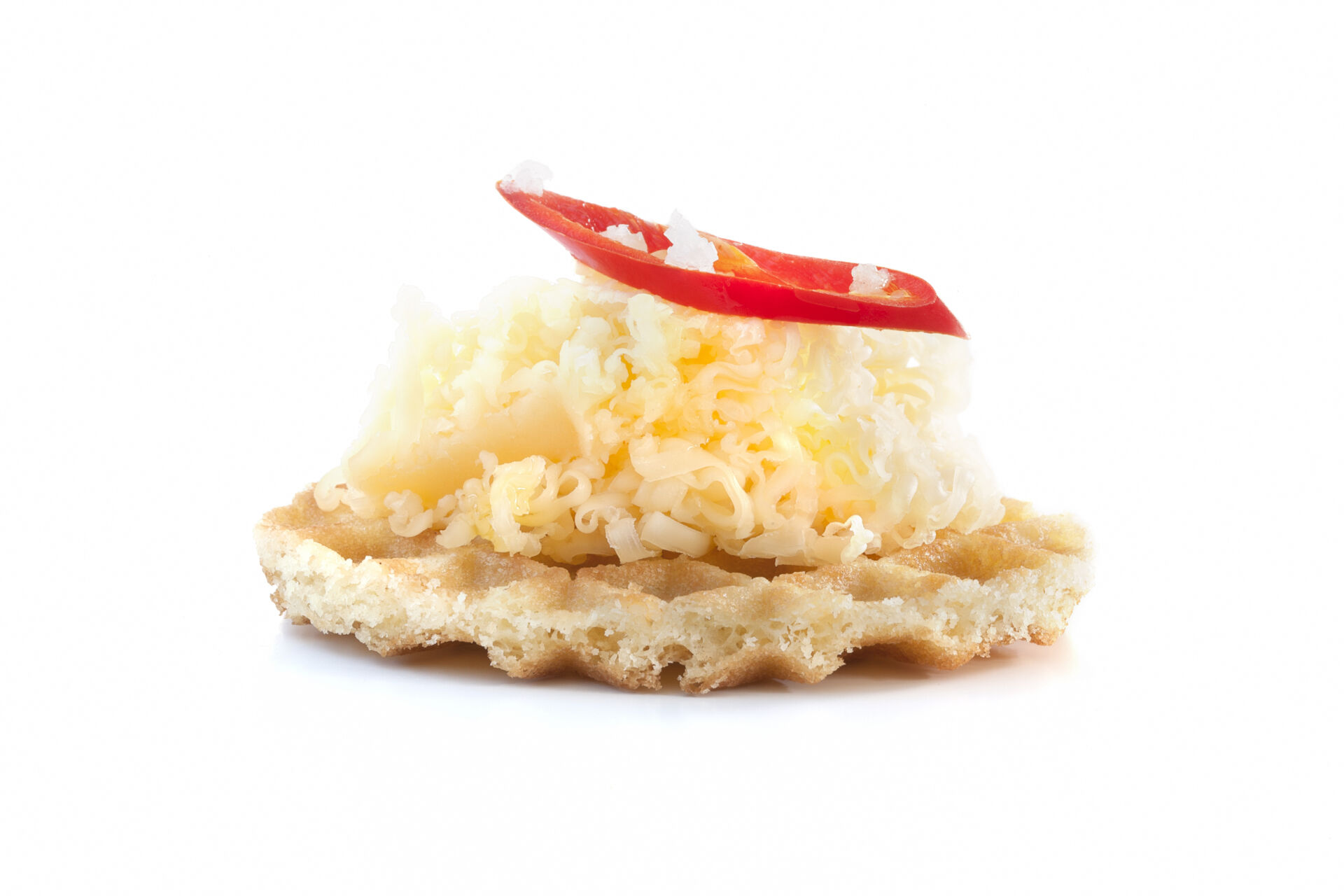 Parijse Wafel kaas paprika