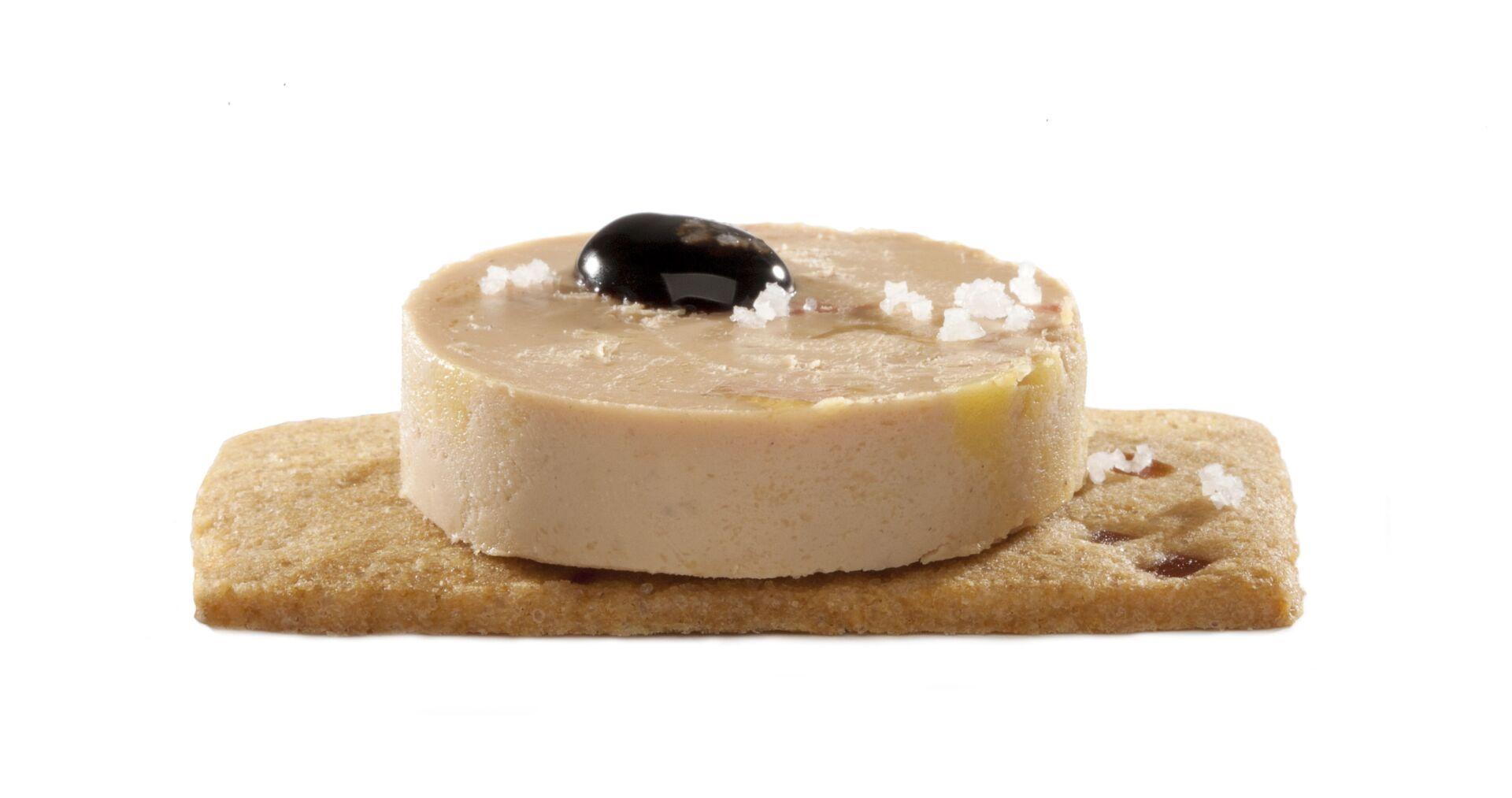 Appelkoekje foie gras