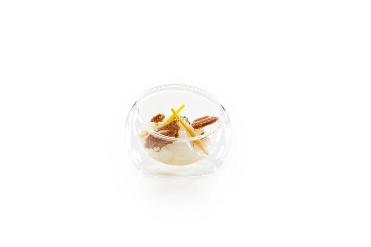 Almond thins cod orange