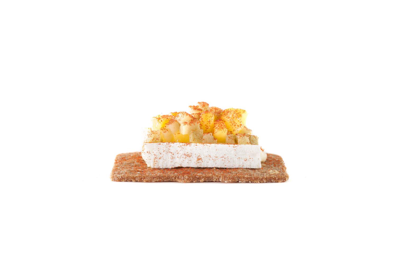 Ginger thin cheese mango