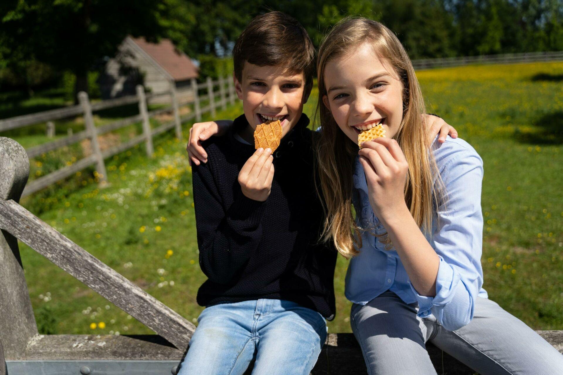 Enfants biscuits