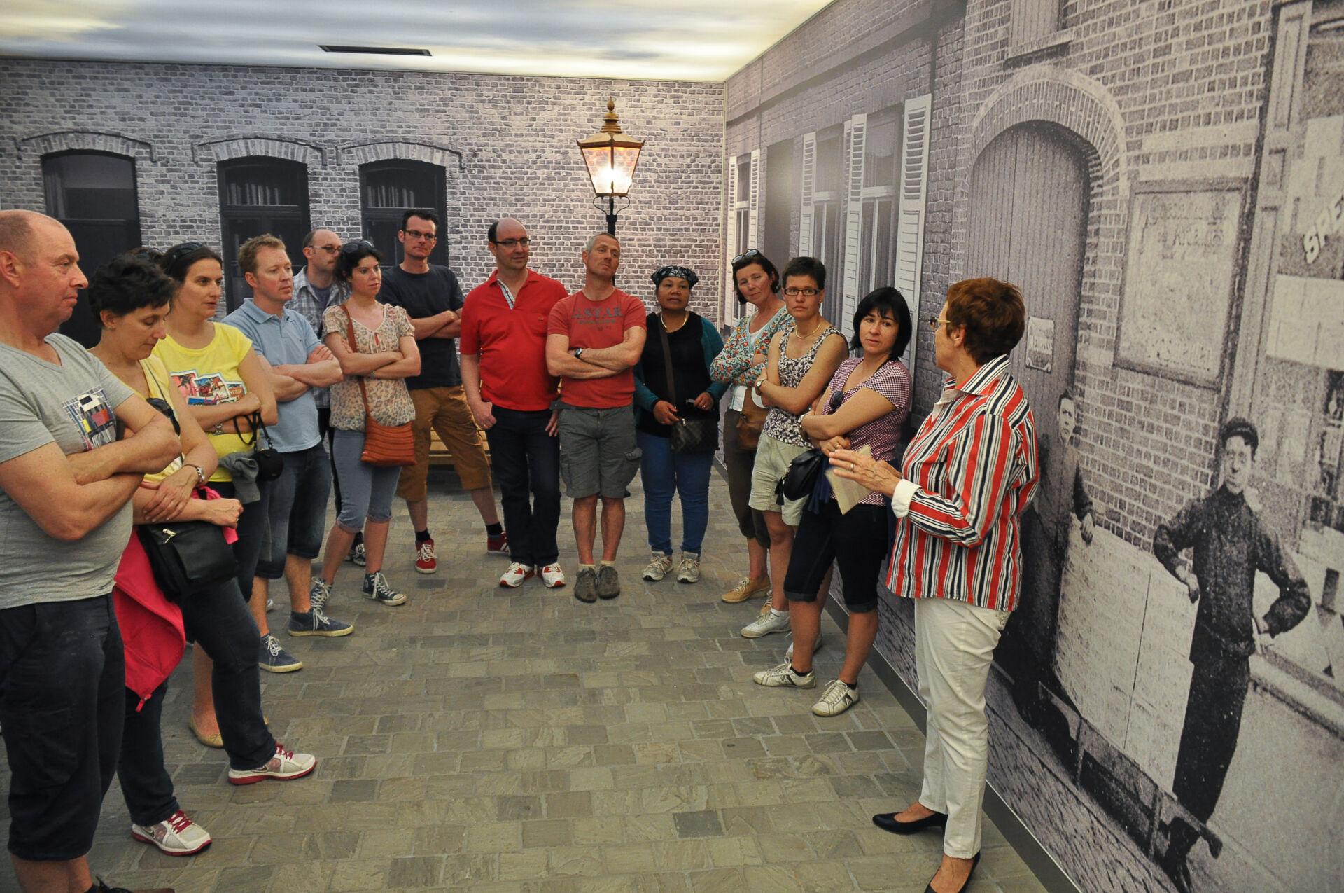 Groepsbezoek bezoekerscentrum
